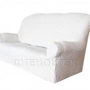 Чехол Модерн на 3-х местный диван, цвет Кремовый