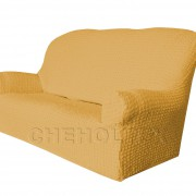 Чехол Модерн на 3-х местный диван, цвет Медовый