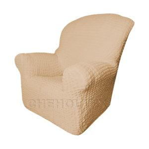 Чехол Модерн на кресло, цвет Какао