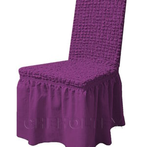 Чехол на стул, цвет фиолетовый (слива)