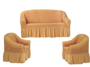 Чехлы наборы (диван и 2 кресла)