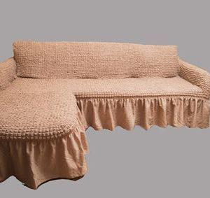 Чехлы на диваны с отоманкой (выступ)